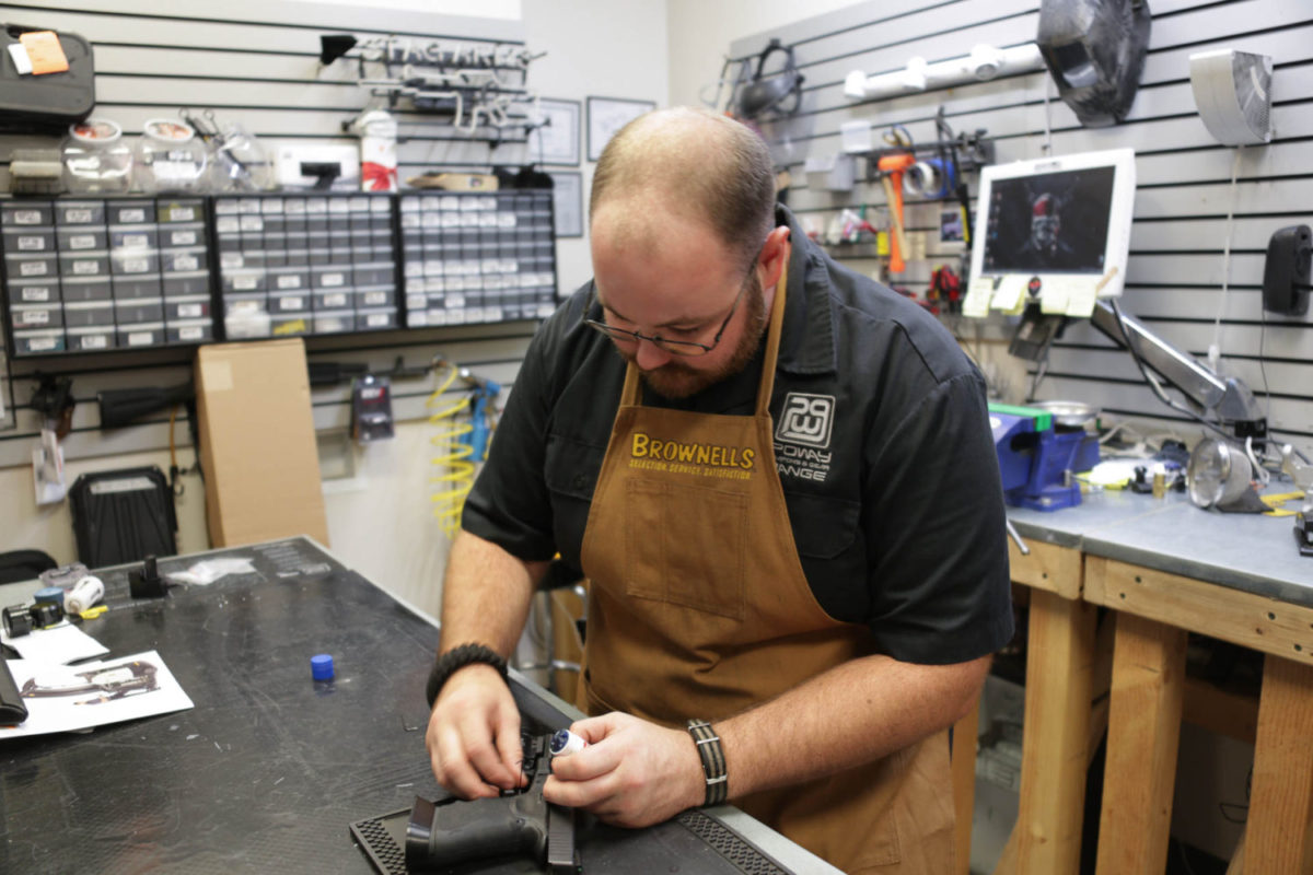 Gunsmithing services in San Diego