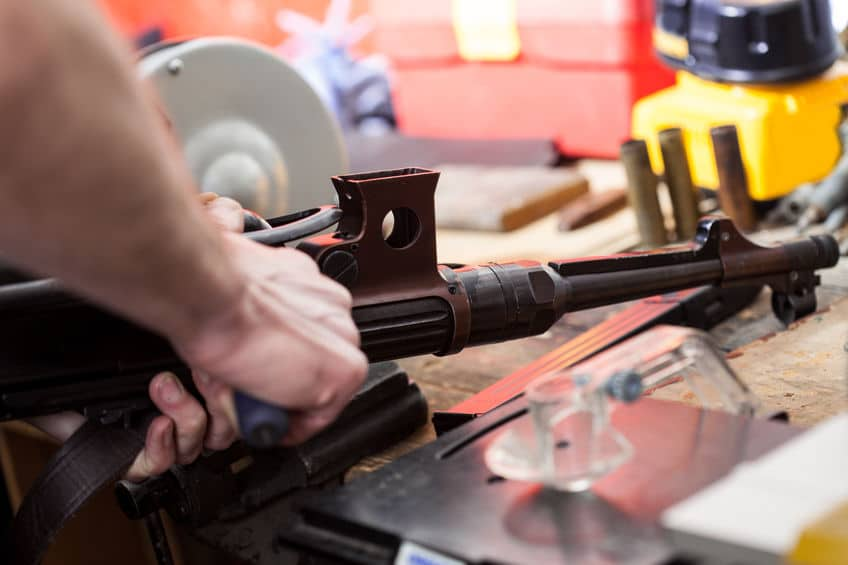 Gunsmith at Work