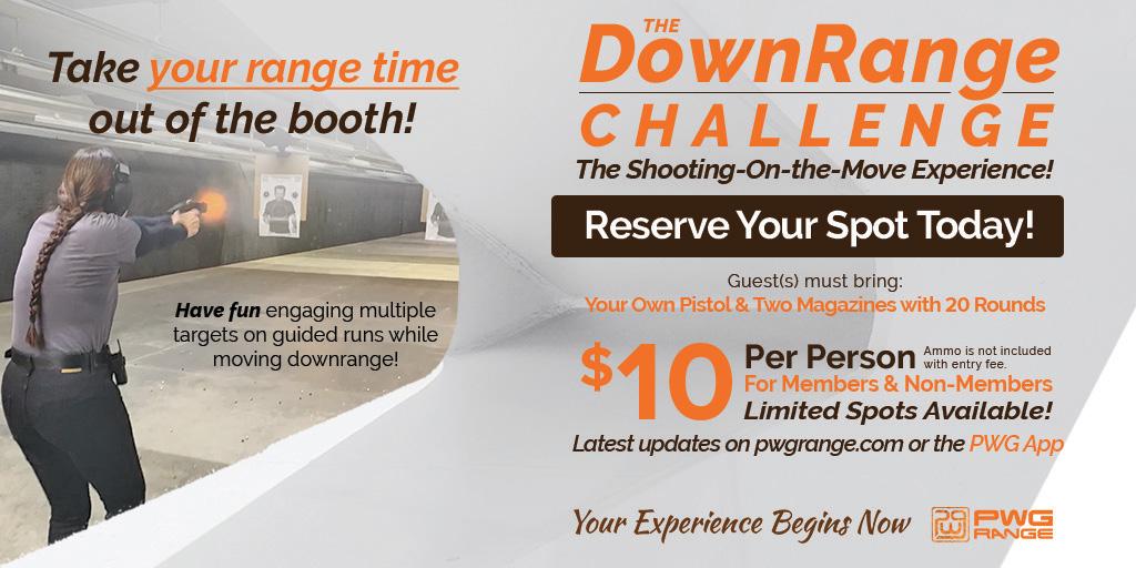 The DownnRange Challenge Oct. 8 and 29 4-6pm